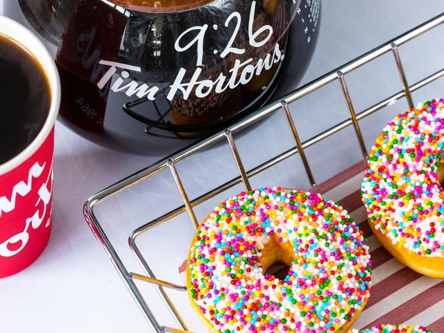 Tim Hortons confirms Salford drive-thru opening date - with FREE food for the first 100 visitors