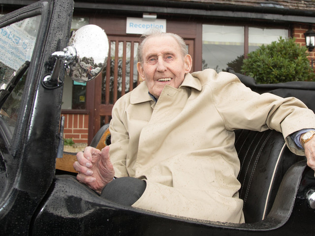 WWII Veteran Who Survived HMT Lancastria Bombing Turns 100 And Reveals Secret To Long Life