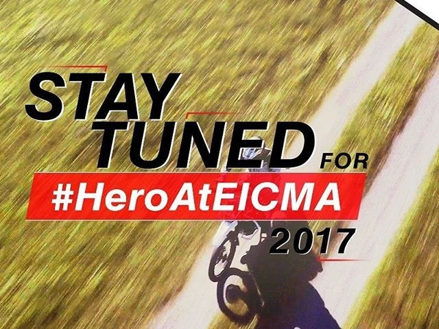 New offroader from Hero MotoCorp teased; debut at 2017 EICMA