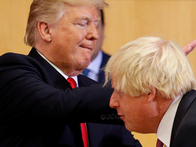 Boris Johnson Gets A Slapdown From Theresa May And Pat On The Back From Donald Trump