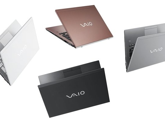 VAIO launches 2nd-gen S11, S13, and S15 laptops (in Japan)