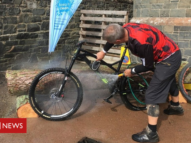 Mountain bikers in the Borders face biosecurity measures