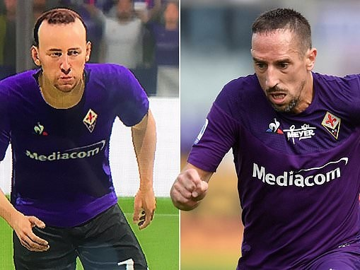 Franck Ribery slams FIFA 20 after seeing unrecognisable picture of himself
