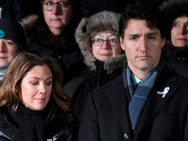 Justin Trudeau is self-isolating while his wife is tested after potential coronavirus exposure