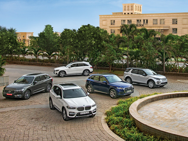 Review: X3 vs Q5 vs XC60 vs GLC vs Discovery Sport comparison