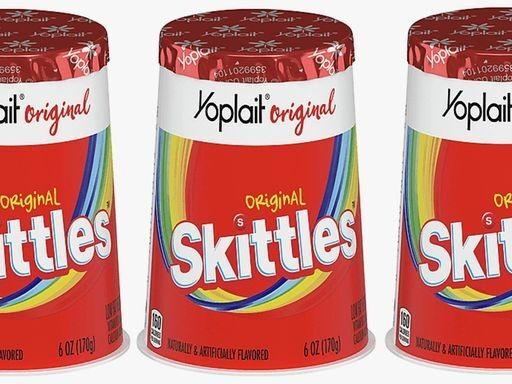 Candy-Flavored Yogurts - Yoplait's New Skittles Yogurt Comes in 2 Varieties: Original & Wild Berry. (TrendHunter.com)