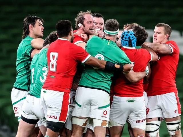 Ireland v Wales LIVE score updates for the Autumn Nations Cup clash
