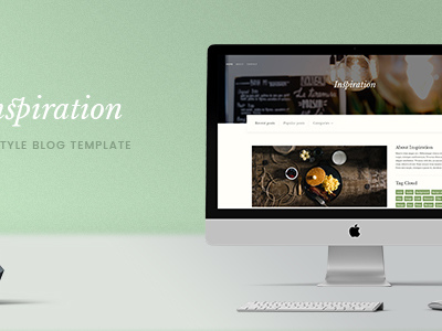 Inspiration — Lifestyle Blog HTML Template (Personal)
