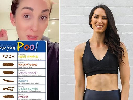 Dietitian Leanne Ward reveals EXACTLY what your poo says about your general health