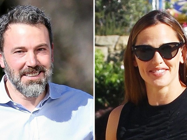 Jennifer Garner and Ben Affleck Attend Church Service Together