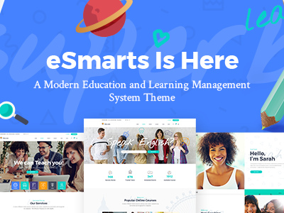 eSmarts - A Modern Education and LMS Theme (Education)