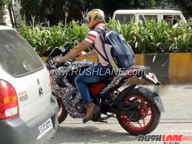Bajaj Pulsar RS200 new colour variant spotted in Pune