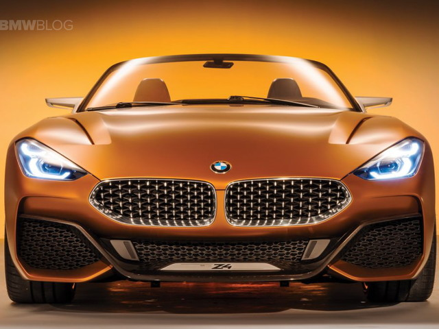 Studio, close-up shots of the BMW Concept Z4