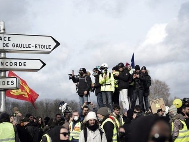 Bloody Scenes As Yellow Vest Anti-Government Protests Turn Violent In Paris