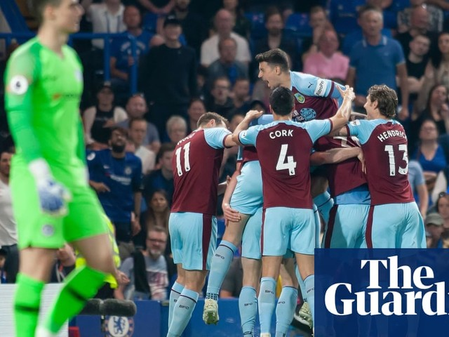 Ashley Barnes and Burnley put spanner in Chelsea's quest for top-four spot