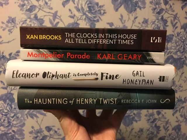 The Costa Book Award 2017 Shortlists…