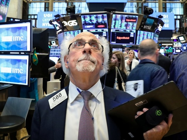 Stocks are dropping as traders worry about the US-China trade war, Iran tensions, and weak earnings