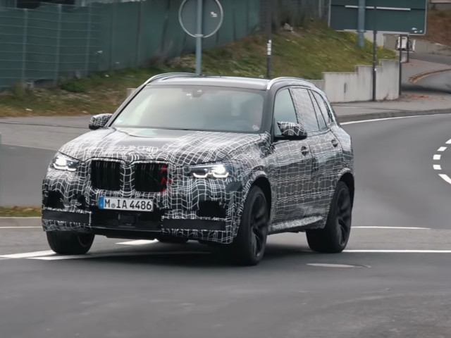 Video: 2019 BMW X5 M Goes Back to the Ring for More Tests