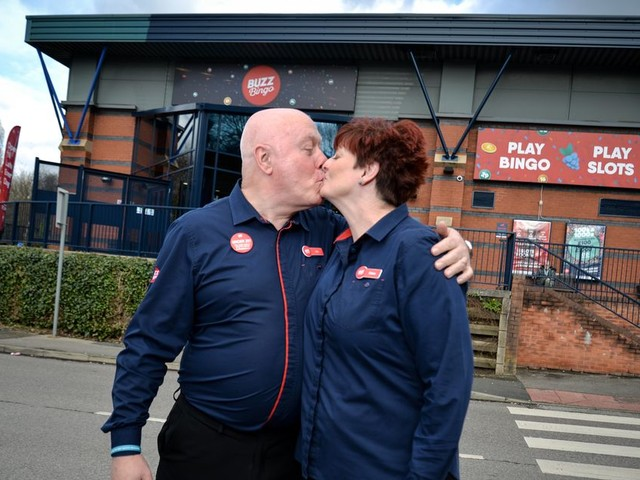 ADVERTORIAL: Lucky in love! Couple who met working at bingo hall 23 years ago still there now