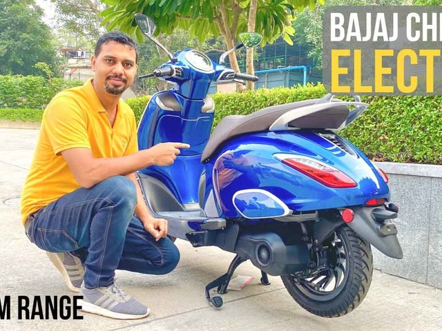 All-New 2020 Bajaj Chetak Electric Scooter Explained In Hindi – Video