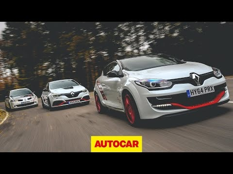 From R26r to Trophy-R: driving the ultimate Renaultsport Meganes