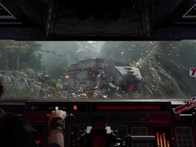 Take a longer, more lasery look at Star Wars Jedi: Fallen Order in motion