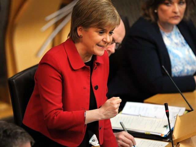 Scotland's Parliament Backs New Independence Referendum