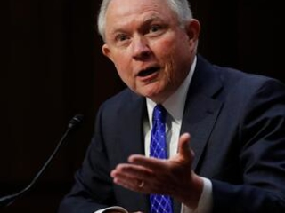 The Latest: Sessions won't say if he'll jail journalists