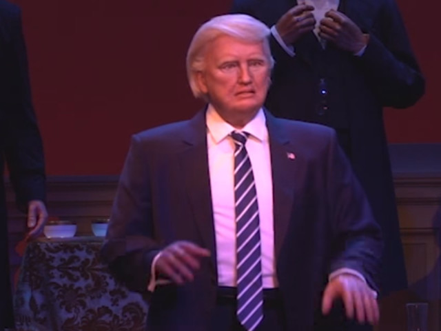 This is what the animatronic President Trump says when you see him at Disney World (DIS)