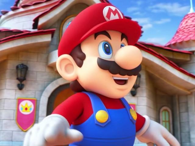 Sneak peek of the Nintendo theme park opening in 2020 with real-life Mario Kart