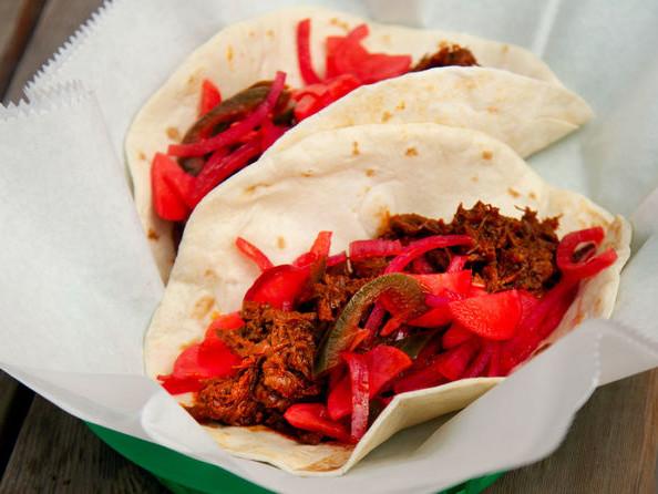 Seasonal Short Rib Tacos - Tacodeli is Serving Up Red-Hued Short Rib Tacos This February (TrendHunter.com)