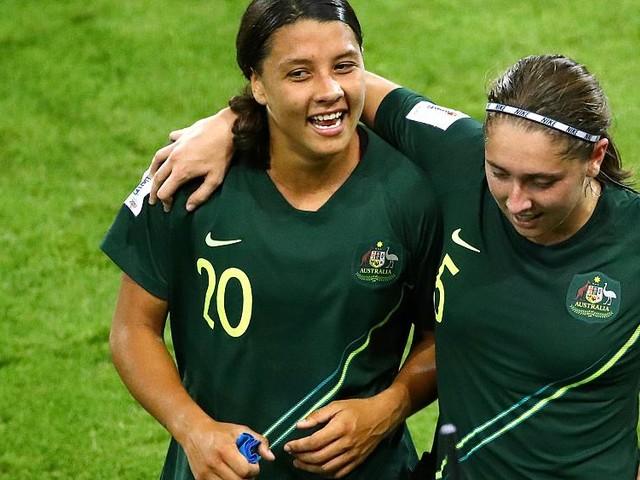 Women's World Cup 2019: Sam Kerr scores all four goals as Australia beat Jamaica 4-1