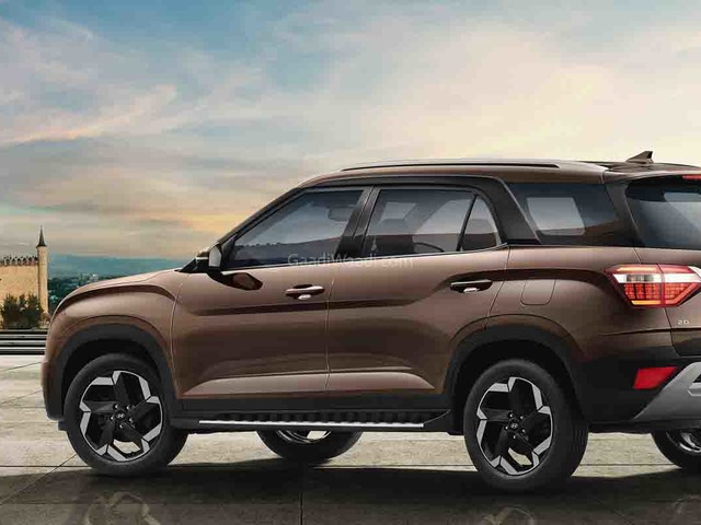 Hyundai Alcazar Booking Opens Officially In India Ahead Of Launch