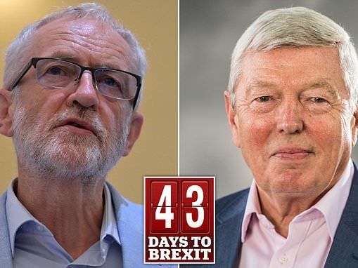 Jeremy Corbyn warned Labour will be 'steamrollered' at the next general election because of Brexit