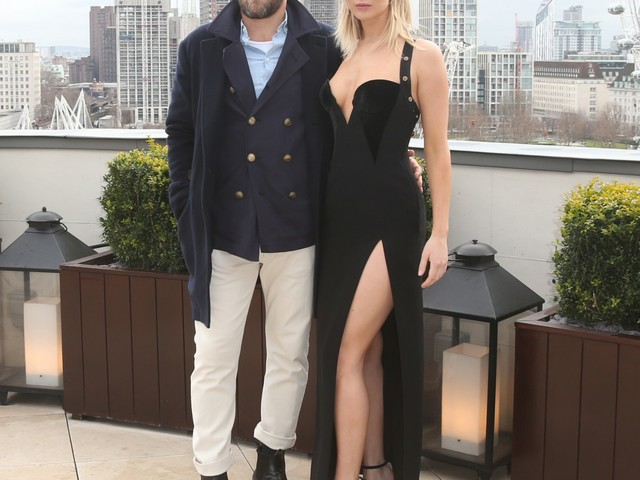 Jennifer Lawrence in a slinky black Versace in London: stunning or dated?