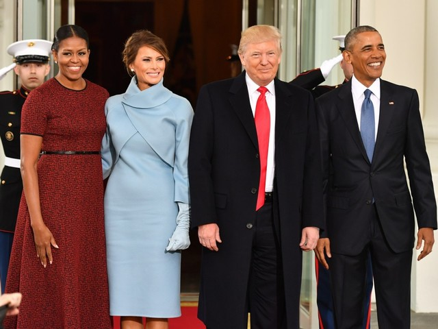 Donald Trump is refusing to unveil the Obamas' portraits in the White House