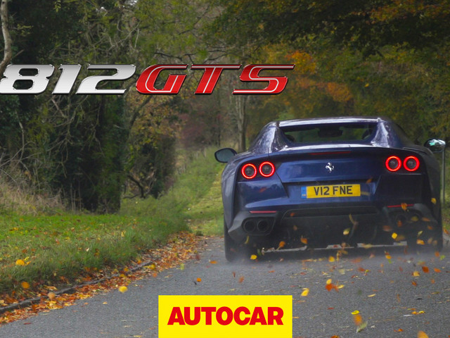 2020 Ferrari 812 GTS video review: most powerful production convertible driven
