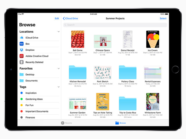 Apple's iOS 11 Helps iPads Catch Up With Ultrabooks, Surface Tablets