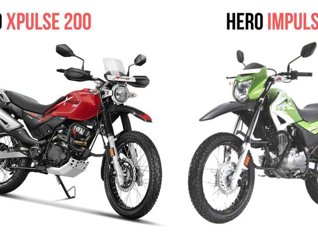 Hero Xpulse 200 Vs Hero Impulse 150: Spec Comparison