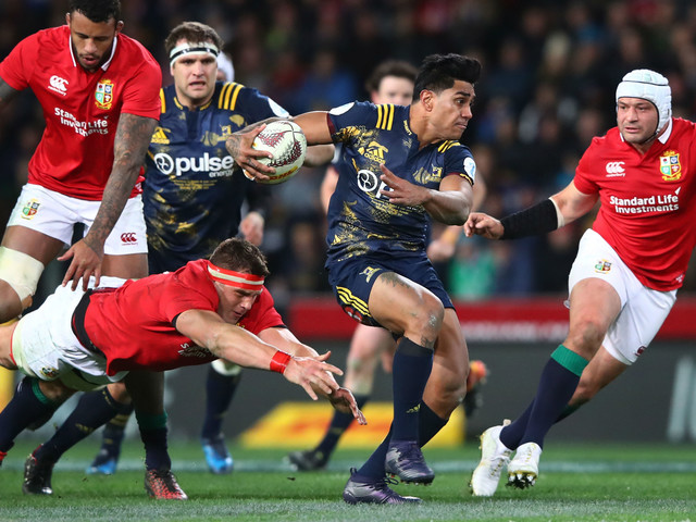 Highlanders vs Lions LIVE: Joseph and Seymour score for tourists