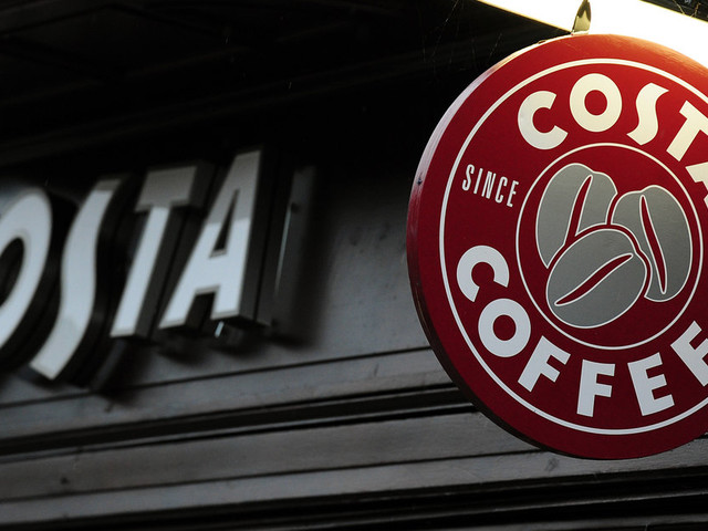 Costa Coffee Sold To Coca-Cola For £3.9bn