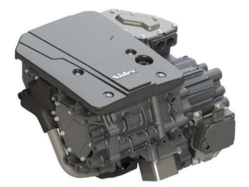 First car using Nidec's E-Axle traction motor system unveiled