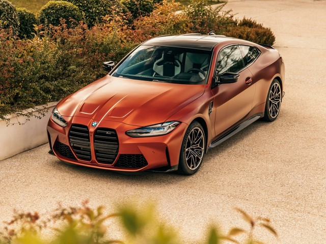 The 2021 BMW M4 Competition in Frozen Orange looks stunning in new photoshoot
