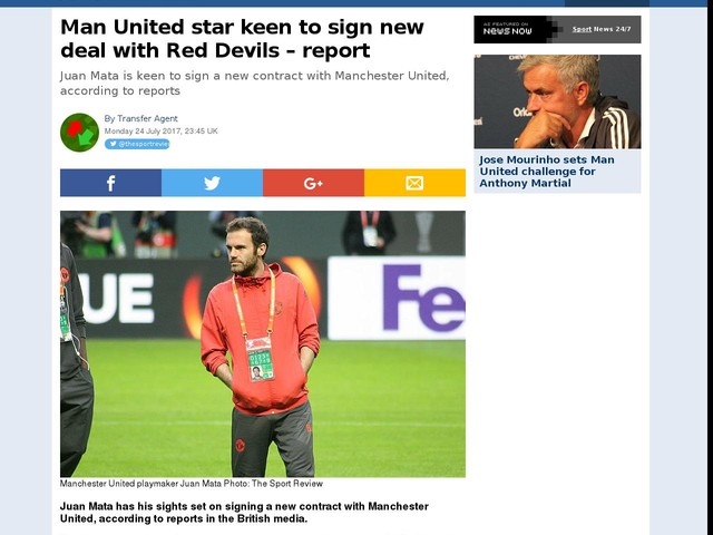 Man United star keen to sign new deal with Red Devils – report