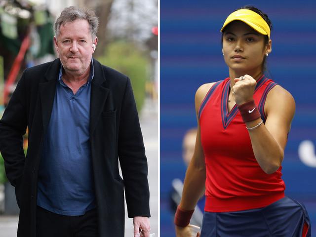 Piers Morgan repeats 'choke' jibe to Emma Raducanu moments before US Open final starts