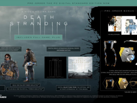 'Death Stranding' PC Pre-Order Bonuses Include All Manner of Shiny Cosmetics