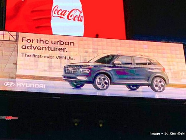 Hyundai Venue sub 4m SUV debuts at Times Square – For the Urban Adventurer