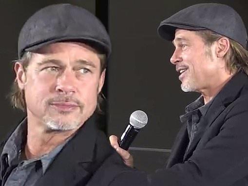 Brad Pitt calls face masks 'considerate' during a pre-coronavirus trip to Japan