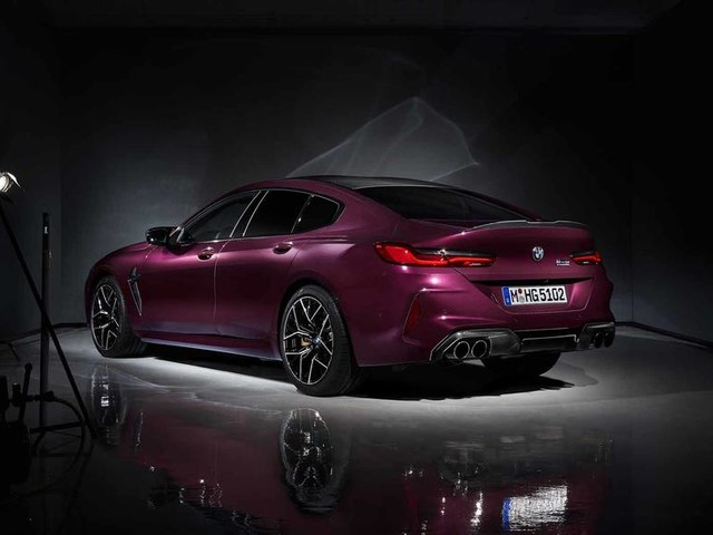 BMW M8 Gran Coupe has first public outing at LA show
