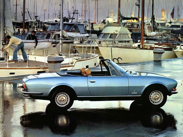 Rare Rides: Luxurious and Stylish, a Peugeot 504 Cabriolet From 1975